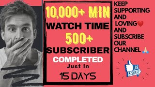 10k+ Min. Watch Time Completed   Bagdi Shayar Official   #Mohit_Pareek