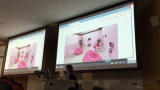 Molly Soda's Artist Talk at Indiana University 3/4/16