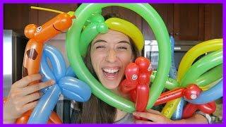 Attempting Balloon Animals!