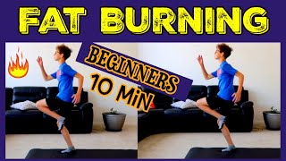 Fat Burning Workouts/Exercises to Lose Belly Fat for Beginners,Teens at Home/træning for begyndere