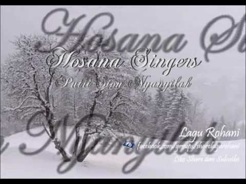 Putri sion nyanyilah   hosana singers