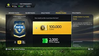 FIFA 15 ULTIMATE TEAM TOTS PACK OPENING  TOTS & TWO IFS PACKED 100k Packs