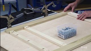 Add Beauty And Strength With A Face Frame | Basics of Building DIY