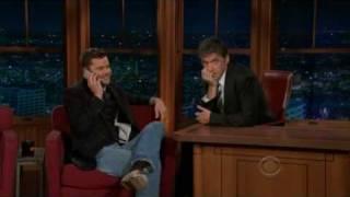 Joshua Jackson au Late Late Show with Craig Ferguson - 14.12.2009