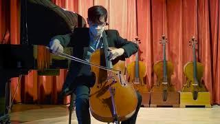 Grubaugh and Seifert cello, Petaluma 2020