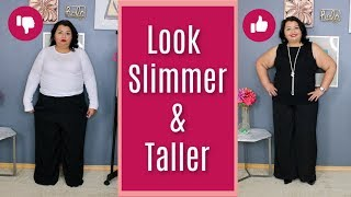 Petite Plus Fashion Tips To Look Slimmer And Taller