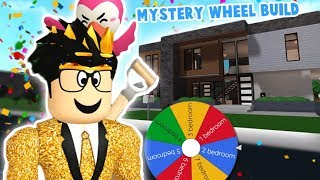 I let a MYSTERY WHEEL build my bloxburg house... this was too chaotic for me