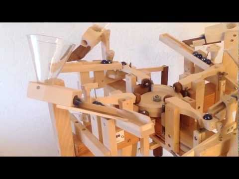 Marvel At These Meticulously Manufactured Maple Marble Machines