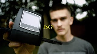 I bought the CHEAPEST 35mm film scanner