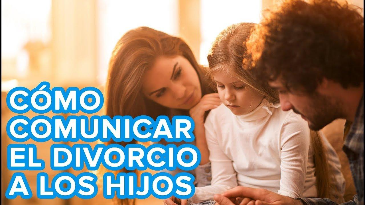 Cómo comunicar el divorcio a los niños | Consejos para padres
