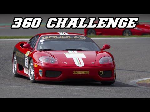 Ferrari 360 Challenge - loud downshifts