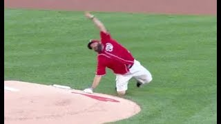MLB Most Unique First Pitches