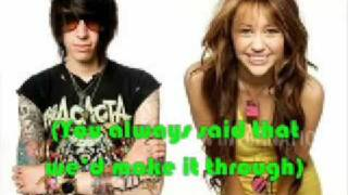 Hovering-Miley Cyrus feat.Trace Cyrus