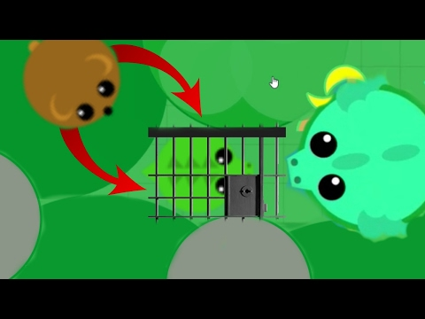 TRAPPING PETS IN MOPEIO! TROLLING STUCK ANIMALS / MEGA NEW TROLL TRICK w/ DRAGON (Mope.io Gameplay)