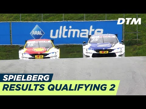 Results & Highlights Qualifying 2 - DTM Spielberg 2018