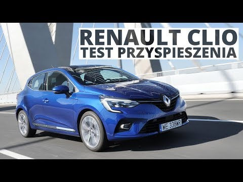 Renault Clio 1.0 TCe 100 KM (MT) - acceleration 0-100 km/h