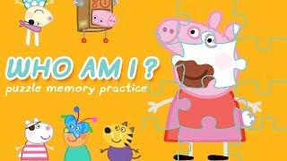 Peppa Pig | Puzzle for Kids - Learn Shapes | Learn With Peppa Pig