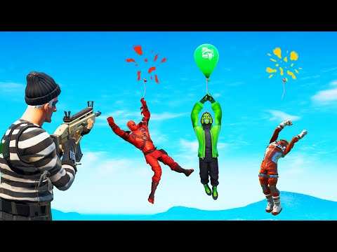 Simon Says GREEN BALLOON SURVIVES! (Fortnite)