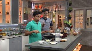 Ruchi Vismayam l EPI - 100 - Veg Milk Sandwich & Red Velvet Dry Fruit Shake | Mazhavil Manorama