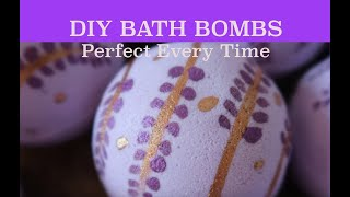 DIY Make Perfect Bath Bombs Everytime With Full Recipe