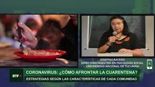 Coronavirus: estrategias comunitarias para afrontar la cuarentena