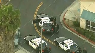 HIGH SPEED CHASE:  High-Speed Pursuit In Los Angeles Ends In Gunfire