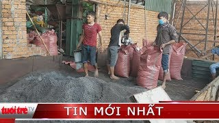 ⚡ NÓNG | Công an triệu tập chủ cơ sở trộn pin vào cà phê