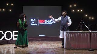 Storytelling in the guise of Music | Kaushal Inamdar | Hamsika Iyer | TEDxSKNCOE