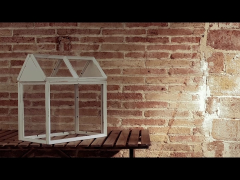 Gewächshaus aus Fotorahmen - Den vollen Durchblick auf die Pflanzenzucht