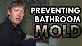 Mold in Bathroom   Prevent Mold in Shower by Lower Bathroom Humidity