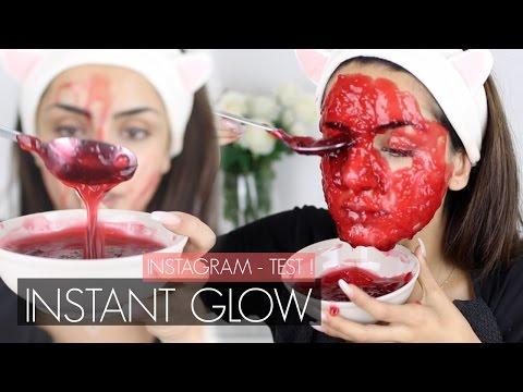 Die professionelle Maske für das trockene gefärbte Haar