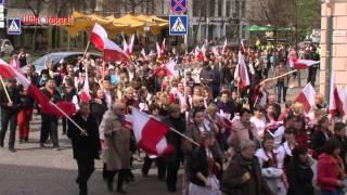 Polski pochód w Wilnie   www.wilnoteka.lt