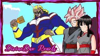 CHICHI BLACK & GOKU BLACK REACT: ALL BLACK (MY HERO ACADEMIA PARODY)