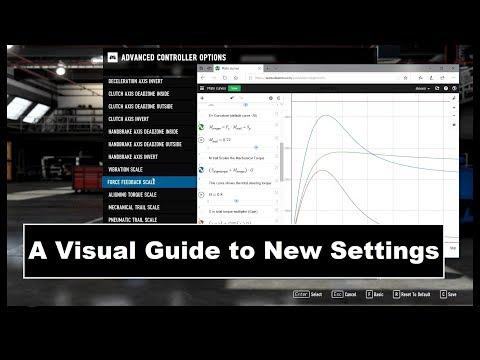 Accuforce V2 Pro New Forza 7 FFB Settings - смотреть онлайн