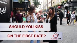Should you kiss on the first date?