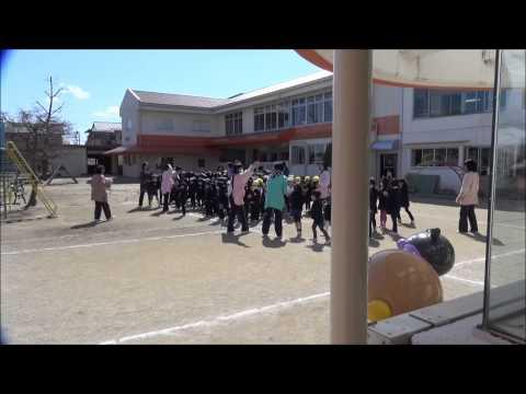 目指せ!幼稚園界のディズニーランド 「地震避難訓練」 笠間市 ともべ幼稚園