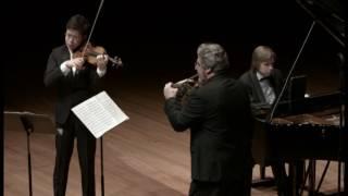 Brahms - Horn Trio Op.40 (Huang, Vlatkovic, Pohjonen) Part 1