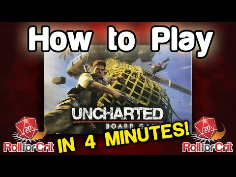 How to Play Uncharted Board Game   Roll For Crit