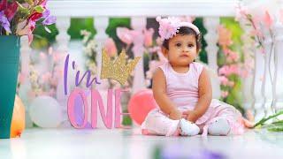 First Birthday Celebration|Baby Girl| Birthday Theme|Birthday Photoshoot Ideas