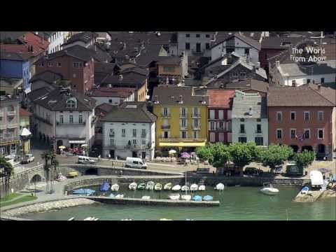 Switzerland from Above - Top Sights (HD)