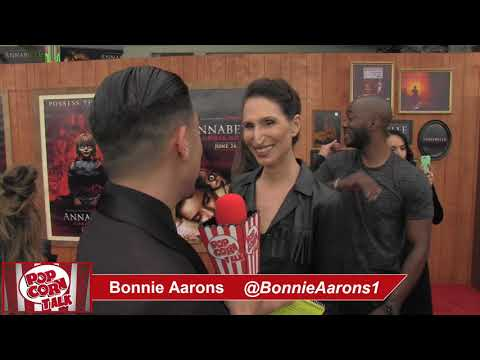 Popcorn Talk at the Annabelle Comes Home Red Carpet Premiere - Bonnie Aarons