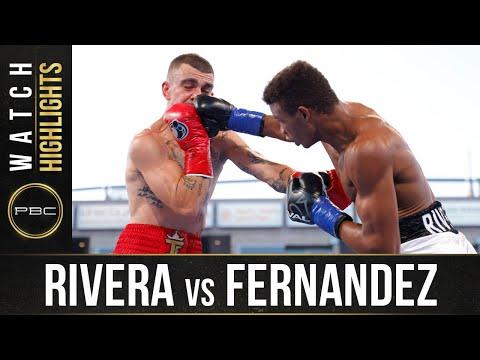 Мичел Ривера – Хон Фернандес / Rivera vs. Fernandez
