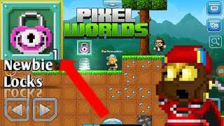 Pixelworlds-Newbie Locks?(How To Start Your Pixelworlds?)