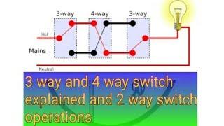 3way and 4way switch diagram - 免费在线视频最佳电影电视节目 - Viveos.Net