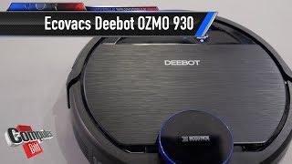 Ecovacs Deebot OZMO 930: Saugroboter wischt auch