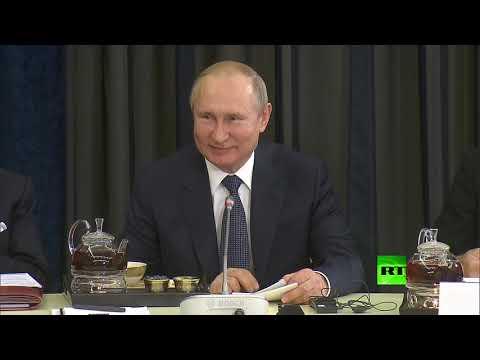 العرب اليوم - شاهد: فلاديمير بوتين يتحدث بالألمانية من جديد
