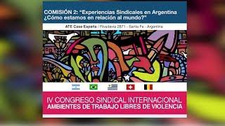 Comisión 2: IV Congreso Sindical Internacional 2019