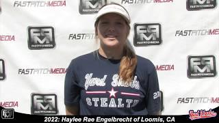 2022 Haylee Rae Engelbrecht Athletic Shortstop Softball Skills Video - Yardsharks
