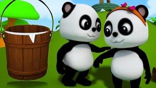 Em bé Bảo gấu trúc   Giắc Và của Jill   vần điệu trẻ cho trẻem   Baby Bao Panda   Jack And Jill