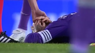 Sergio Ramos smart dive to avoid red card vs Espanyol (18/09/2016)